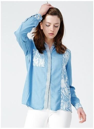 U.S. Polo Assn. Jean Gömlek Mavi